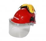 TORNADO visera plástico para casco protector